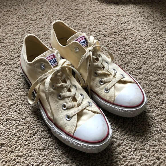 coupon codes elegant and sturdy package 100% authentic Converse Chuck Taylor All Stars in Natural White